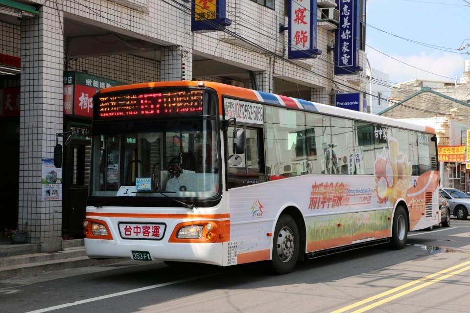 提升公車服務效能!中市157路公車增駛甲后路。(記者劉秝娟翻攝)