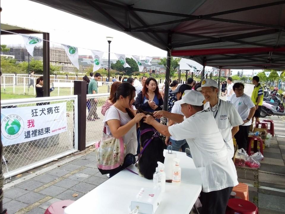毛孩健康不能等 中市12月狂犬疫苗注射場次看這裡。(特派員林惠貞翻攝)