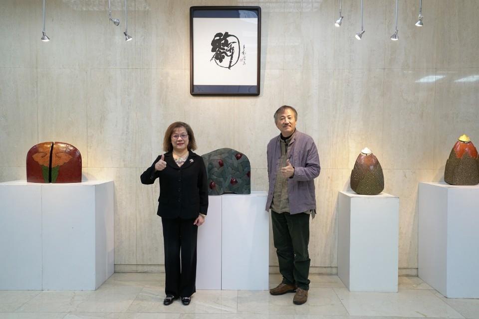 第一藝術空間邀您欣賞「硘想四十」李幸龍漆陶創作展。(記者詹美子翻攝)