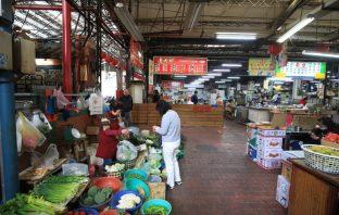 台中市公有第二零售市場。(記者高秋敏翻攝)
