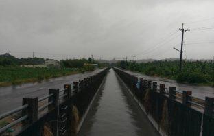 雲林農田水利會實現承諾,調配斗六大圳用水供給沿線農民灌溉。(記者張達雄攝影)