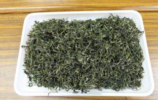 碧螺春綠茶。(記者曾憲群翻攝)