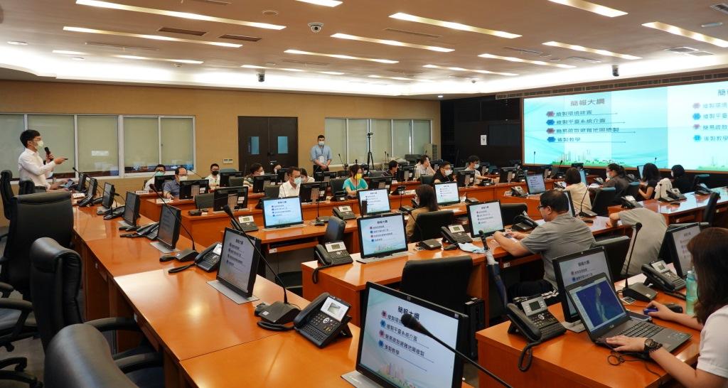 中市積極整備應變颱風季 特訓第一線區公所災防能力。(記者陳信宏翻攝)