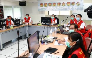 因應八月豪雨 楊明州要求防汛準備作業提前部署。(記者劉明吉翻攝)
