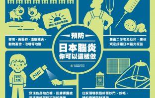 日本腦炎流行季 中市府籲做好日常防護並按時接種疫苗。(特派員蘇崇文翻攝)