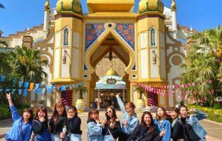 六福村為大學生迎新,開學之際推出學生票優惠550元(原價999元)。圖 六福村提供