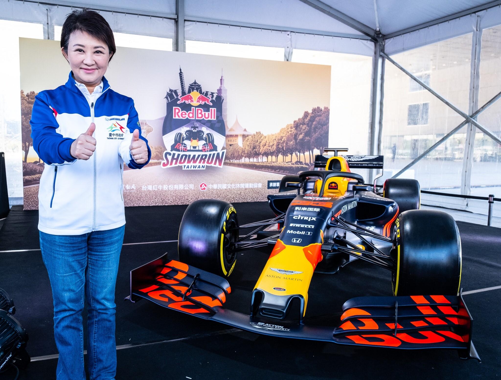 台中首度引進實體F1賽車原裝空運來台,掀起全國賽車運動話題