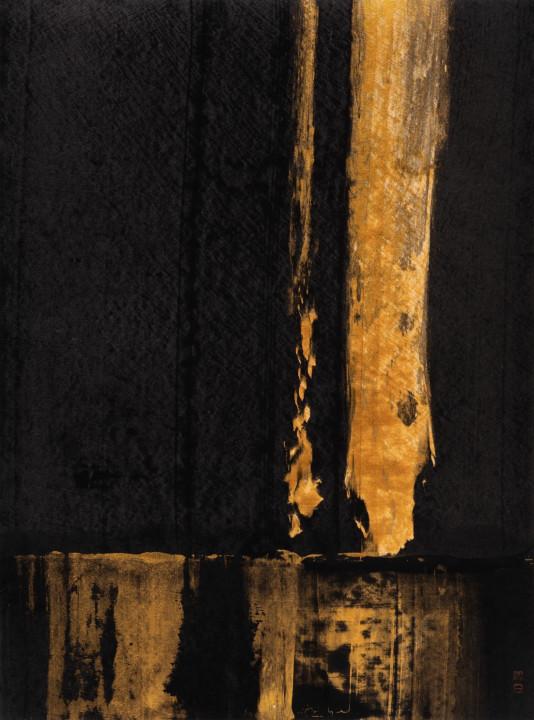 竹影天光系列作品。
