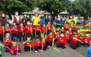 埔里長壽公園景觀改造 增加兒童設施