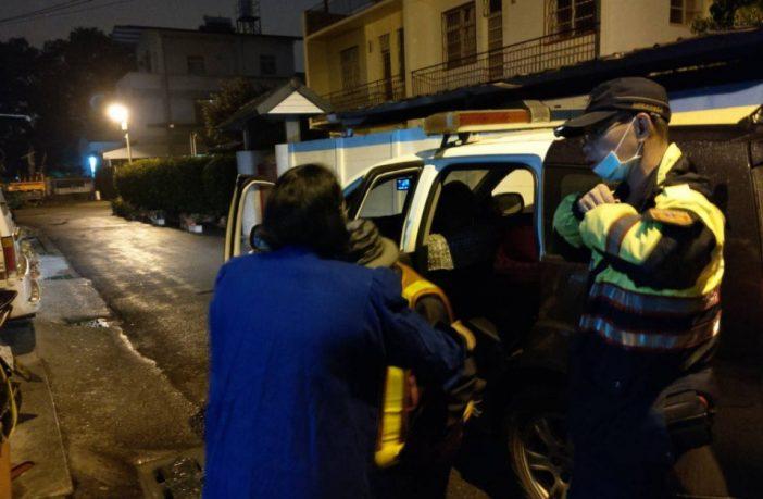 埔里鎮92歲老嫗迷路 警方及時救助