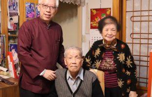 國美館長梁永斐左訪問藝術家劉文煒賢伉儷
