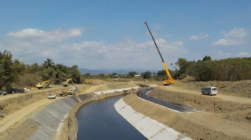 龜子港排水系統性整治逐步完成   提高龜子港排水沿岸防洪標準
